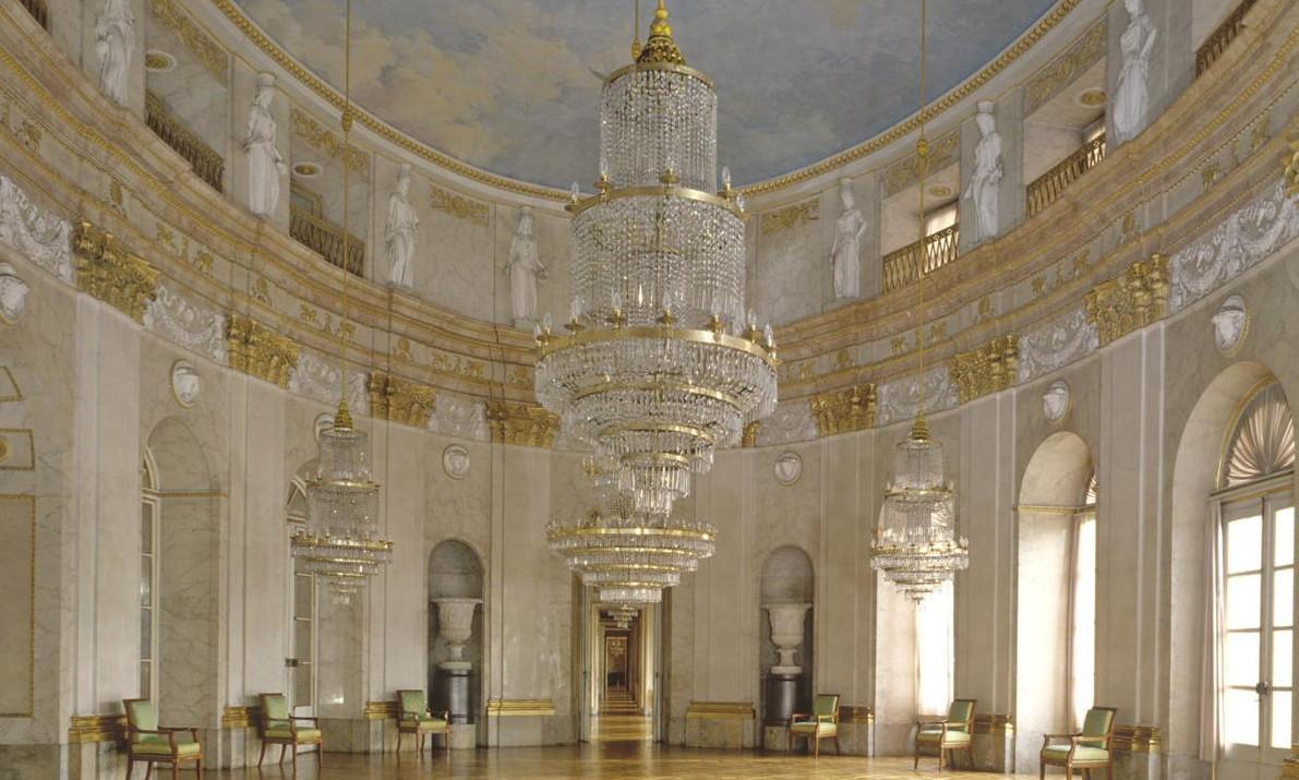 Marmorsaal des Residenzschlosses Ludwigsburg; Foto: Staatliche Schlösser und Gärten Baden-Württemberg, Steffen Hauswirth